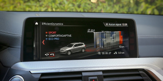 BMW X3 M40i Touch Screen