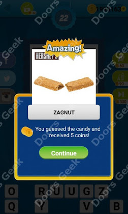 Answers, Cheats, Solutions for Guess the Candy Level 22 for android and iphone