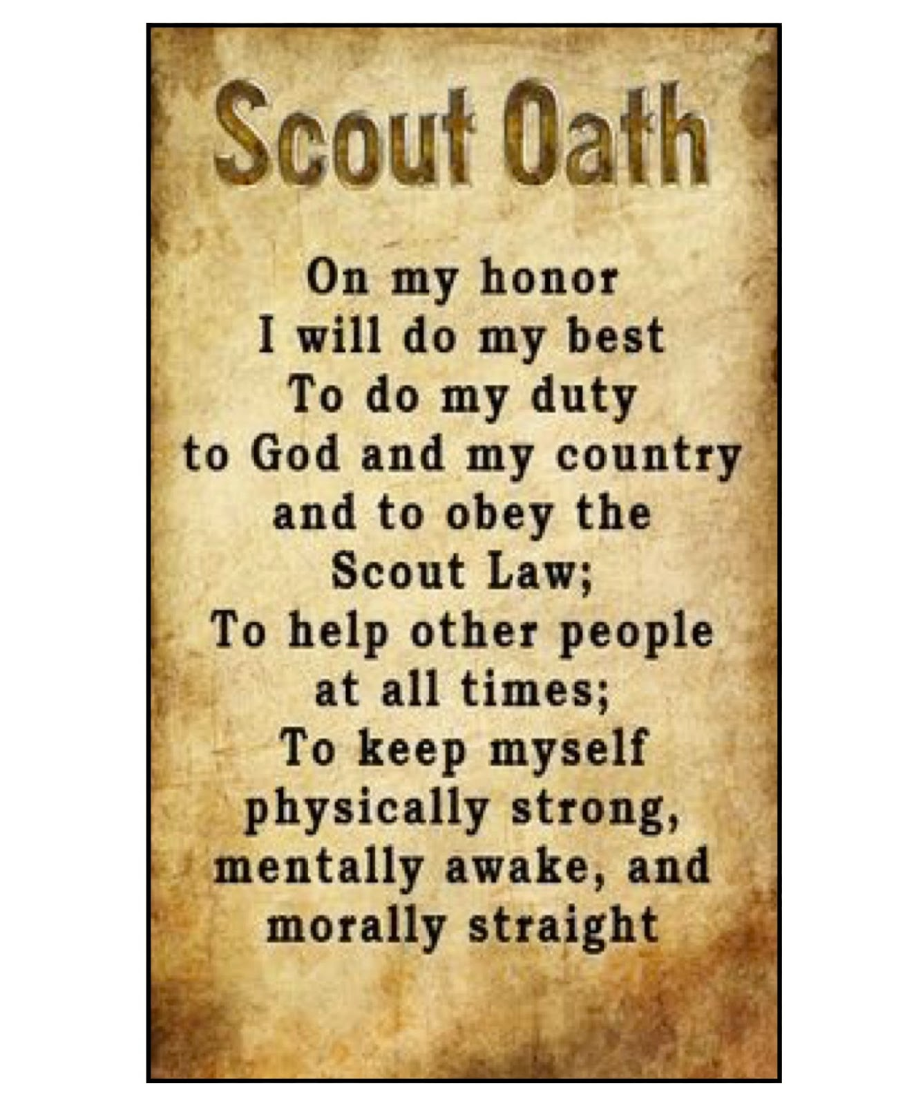 photograph about Scout Oath Printable referred to as Akelas Council Cub Scout Chief Performing exercises: Cub Scout Craft