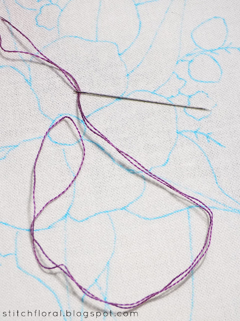 5 ways to start thread in hand embroidery
