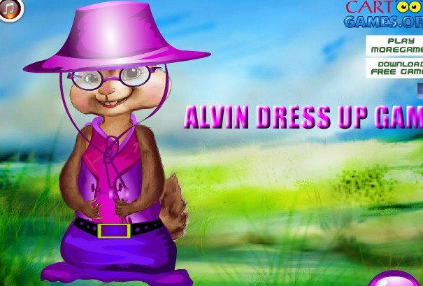 Alvin Dress Up Game