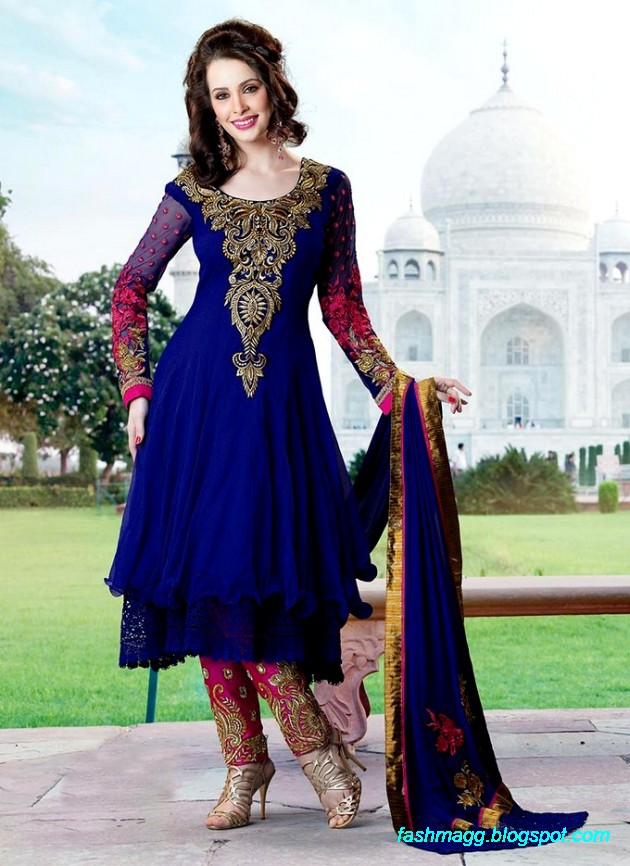 Fashion Amp Style Indian Anarkali Frocks Dresses Collection