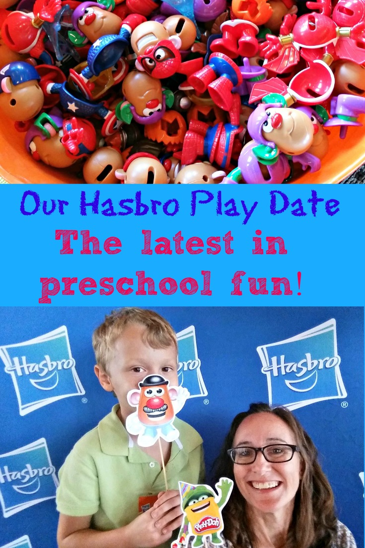 We got a hands on play date with all the latest preschool toy favorites from Hasbro!