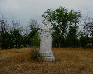 Новгородське. Парк. Погруддя Богдана Хмельницького