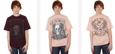 camisetas para niño de Tony Hawk