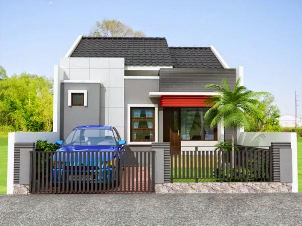 Rumah minimalis type 21 yang tampak luas dan nyaman