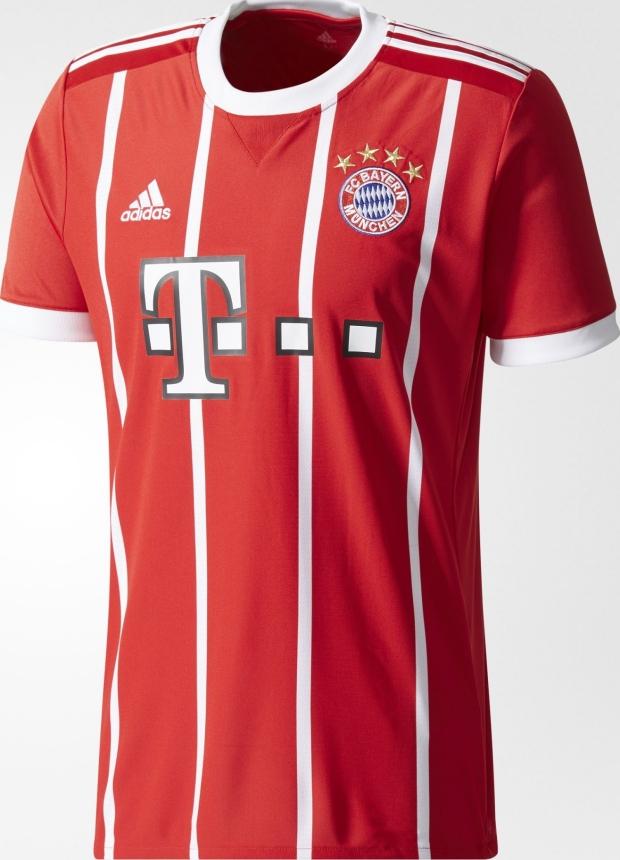 0fe51cf18c Adidas divulga a nova camisa titular do Bayern de Munique - Show de ...
