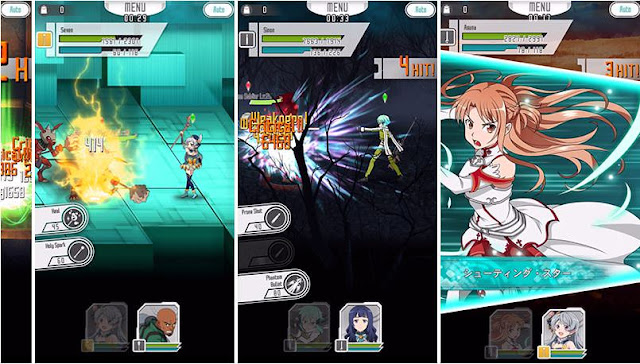 Sword Art Online: Memory Defrag Cheats