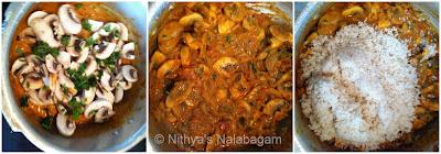 Mushroom Biryani with seeraga samba rice 4