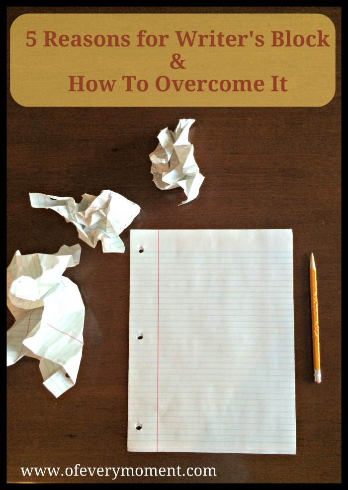 Image 1. 5 Reasons for writer's block and how to overcome it.