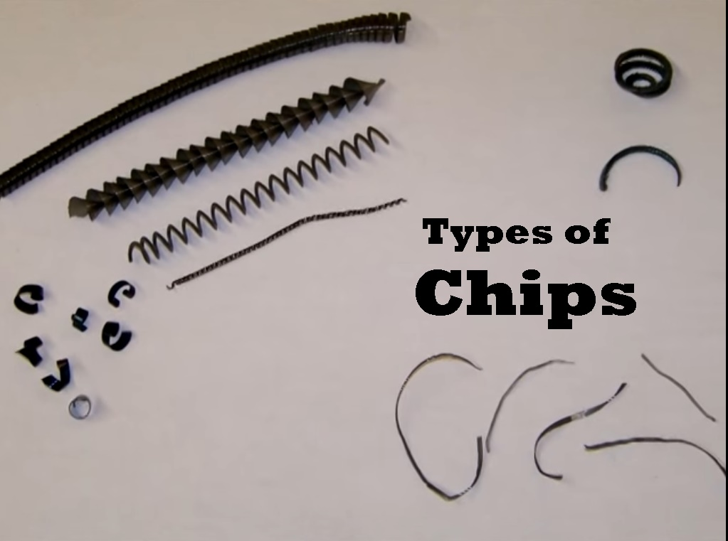 Chips in metal cutting