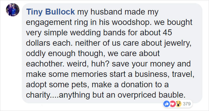 Woman Defended Her Fiancé When A Jewelry Store Employee Shamed Him For Buying A 'Pathetic' $130 Engagement Ring