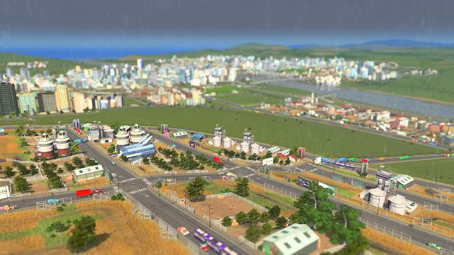 Cities: Skylines | Taffic screenshot