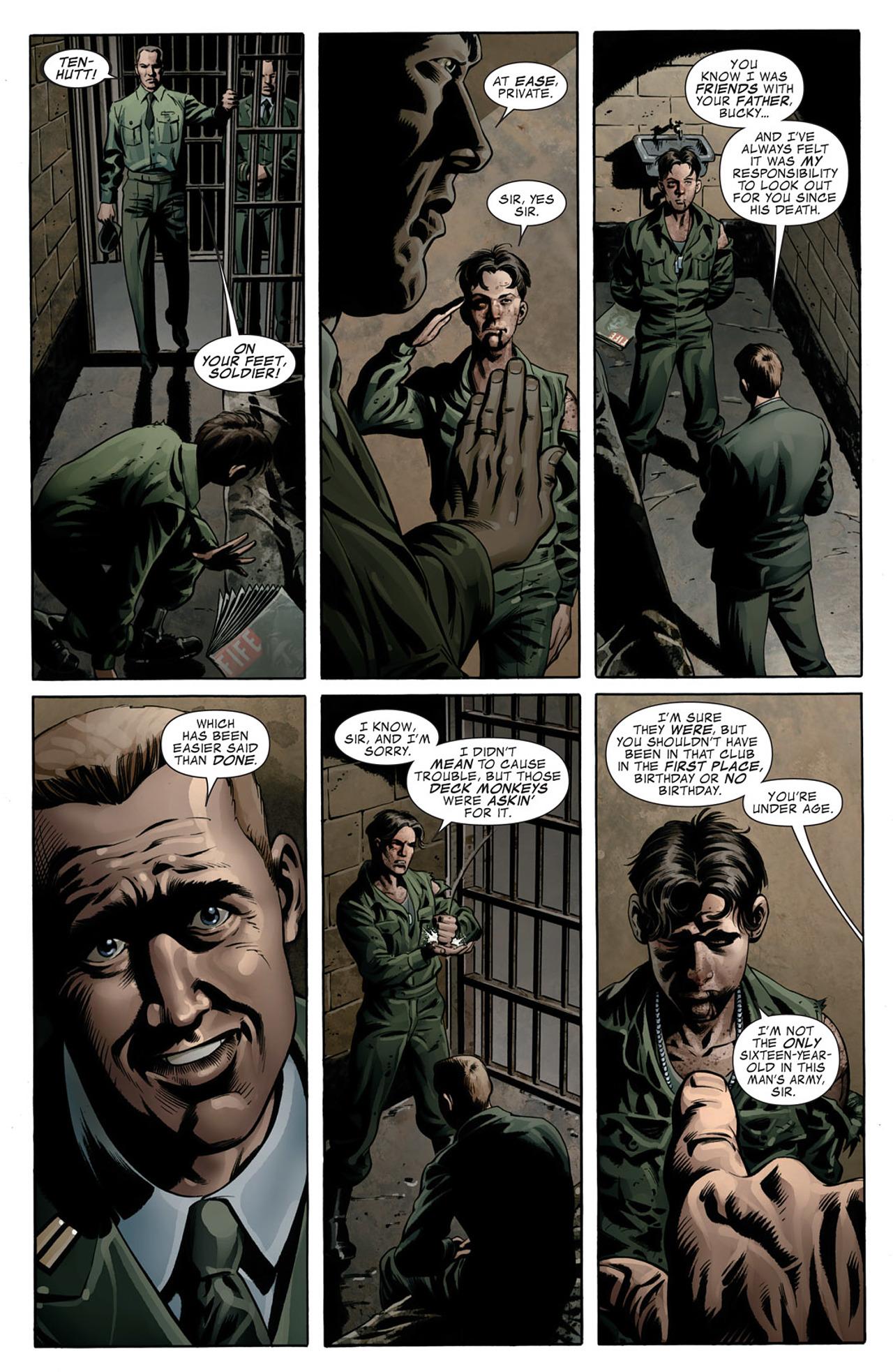 Read online Captain America (2005) comic -  Issue #50 - 7