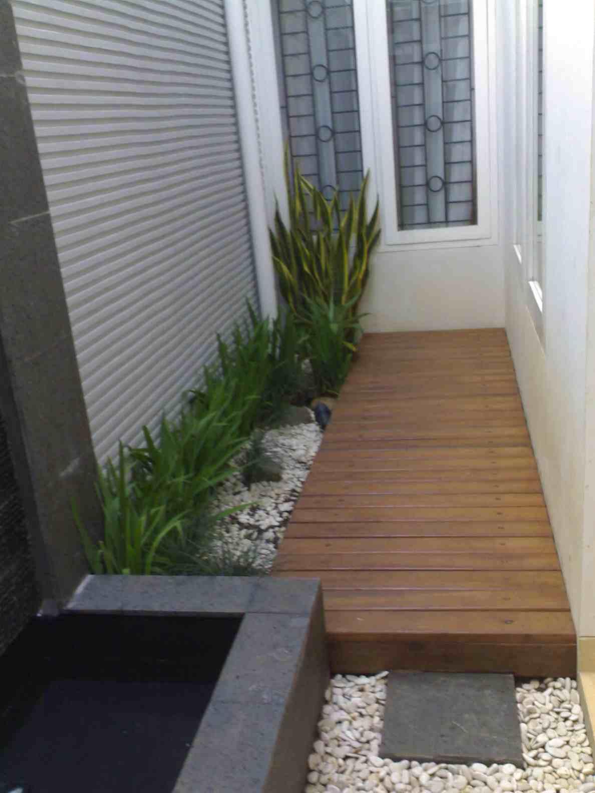 45 Desain Taman Depan Rumah Minimalis Untuk Lahan