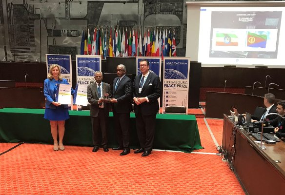 <Ethiopia And Eritrea Honored With Outstanding Peace Process Award