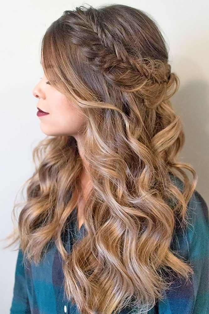 Cute Hairstyles For Prom