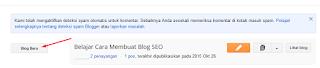contoh membuat blog baru