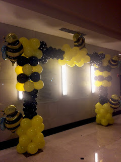 Honey Bee themed event decoration