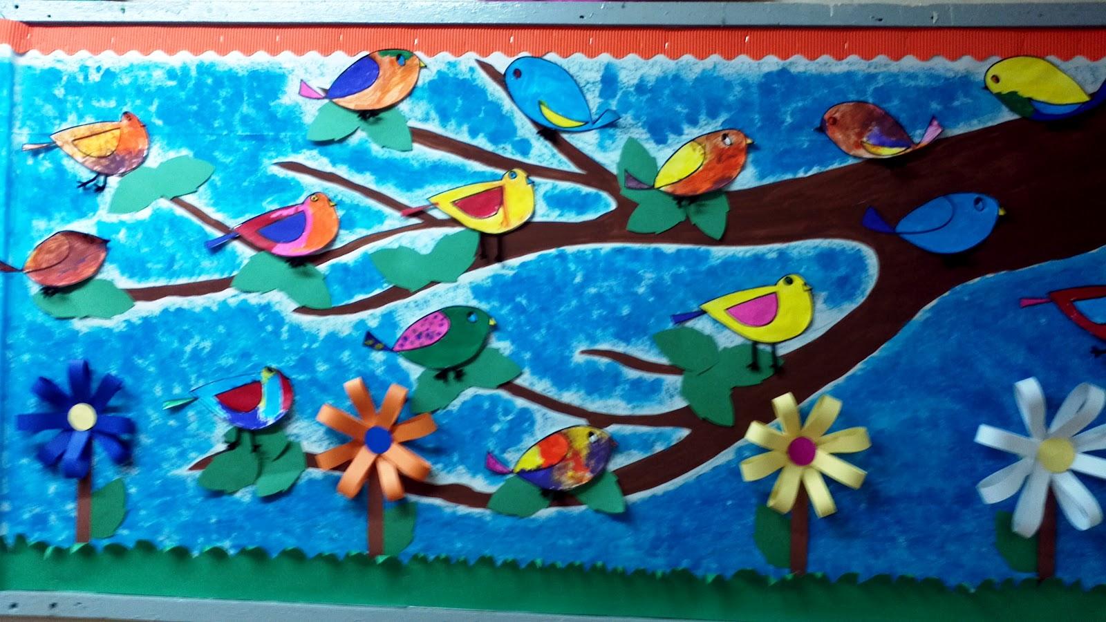Spring Teacher Bulletin Board Ideas