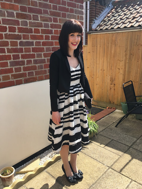 Wedding Guest Outfit and Make-up