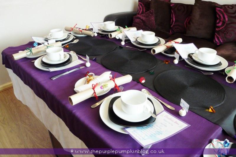 My Christmas Lunch Table Decor