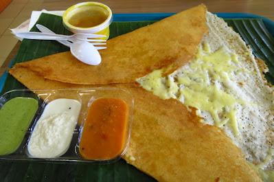Komala's, cheese dosai