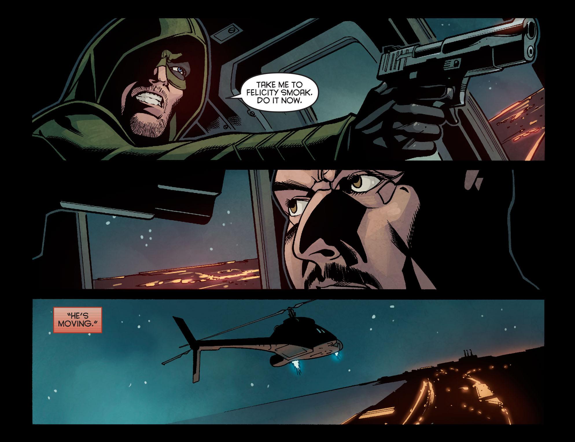 Read online Arrow: Season 2.5 [I] comic -  Issue #14 - 7