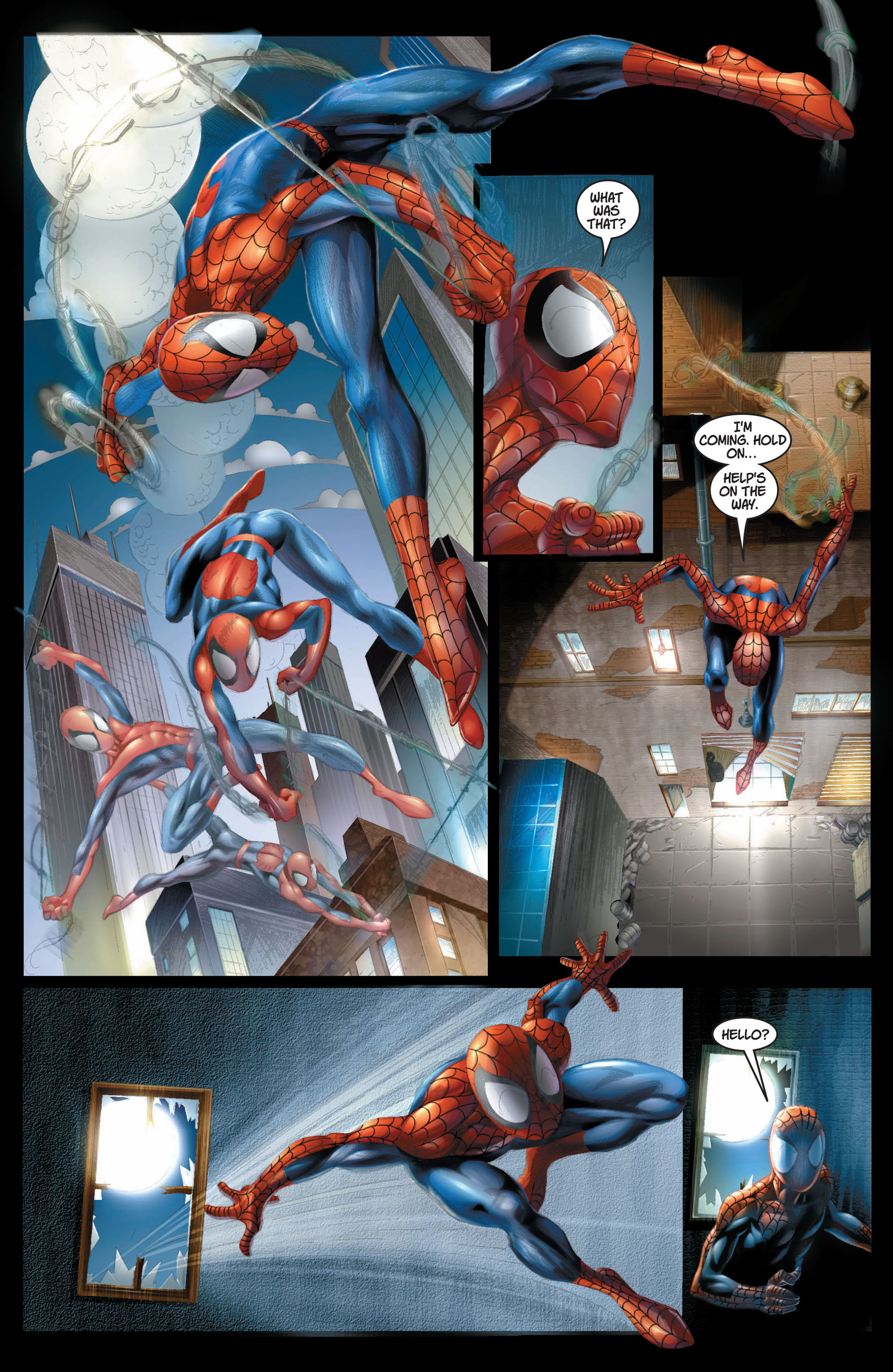 Read online Ultimate Spider-Man (2000) comic -  Issue #8 - 16