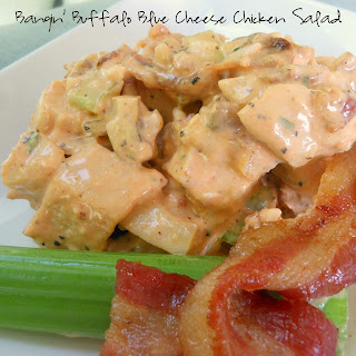 Bangin' Buffalo Blue Cheese Chicken Salad