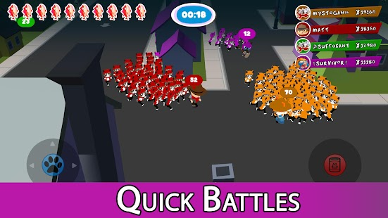 Crowd cat battle Apk Free on Android Game Download
