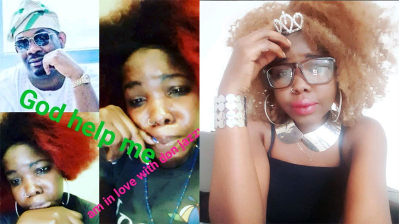 Another lady declares love for Don Jazzy, says she can't keep it anymore