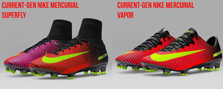 the latest 316ec bc6d0 Just One Difference? Next-Gen Nike Mercurial Superfly 360 vs ...