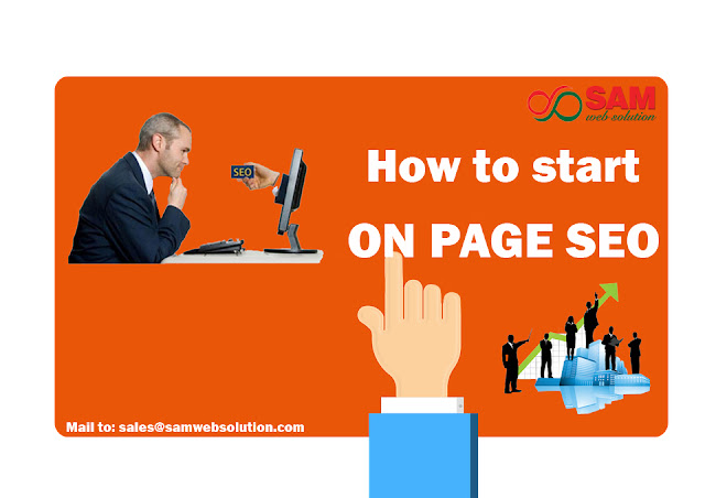 on page SEO tactics