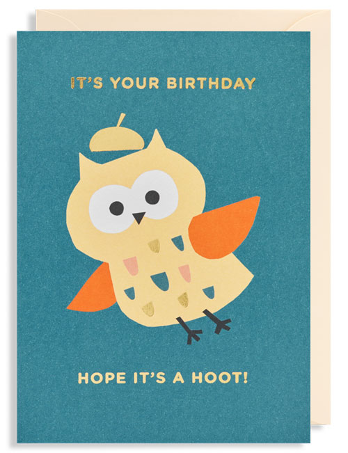 My Owl Barn Cute Birthday Cards By Ekaterina Trukhan