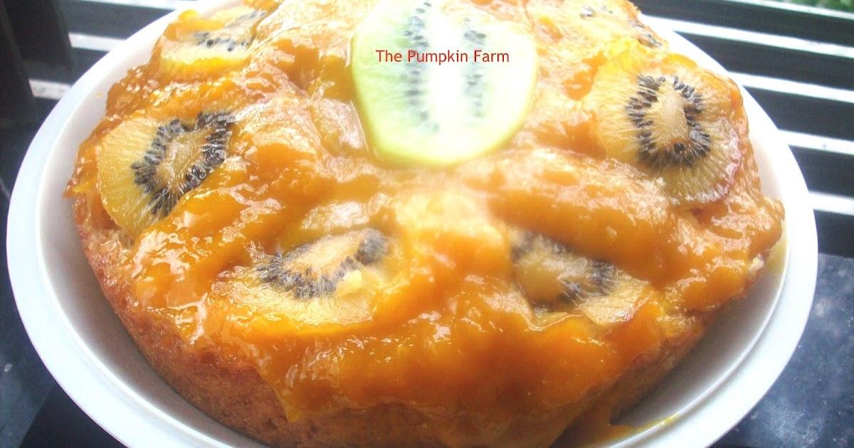 Pumpkin Upside Down Cake Recipe