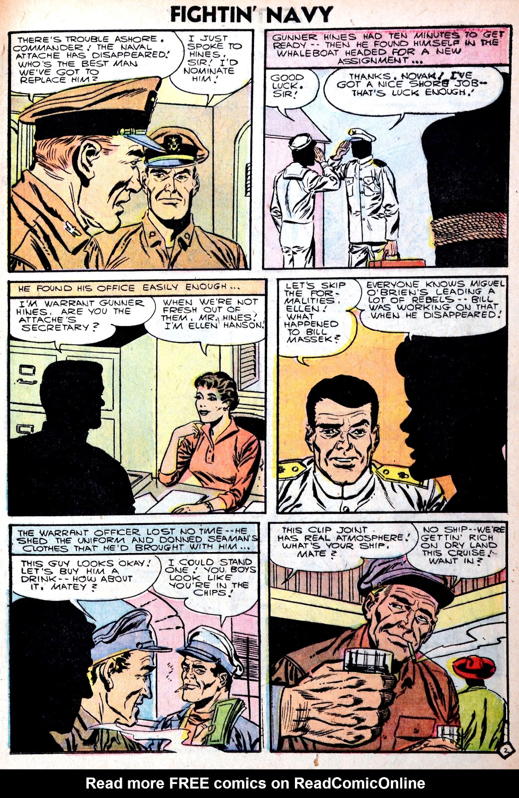 Read online Fightin' Navy comic -  Issue #75 - 25
