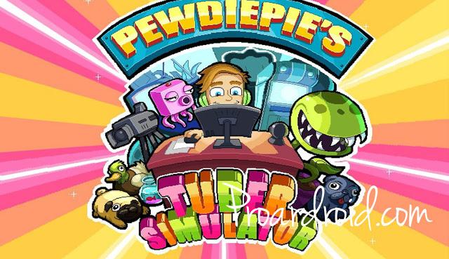 لعبة PewDiePie's Tuber Simulator v1.29.0 كاملة للاندرويد (اخر اصدار) logo