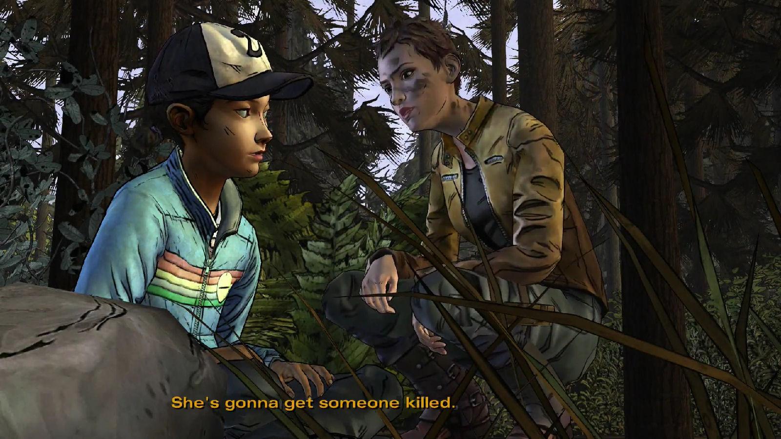 Walking dead video game season 2 episode 2