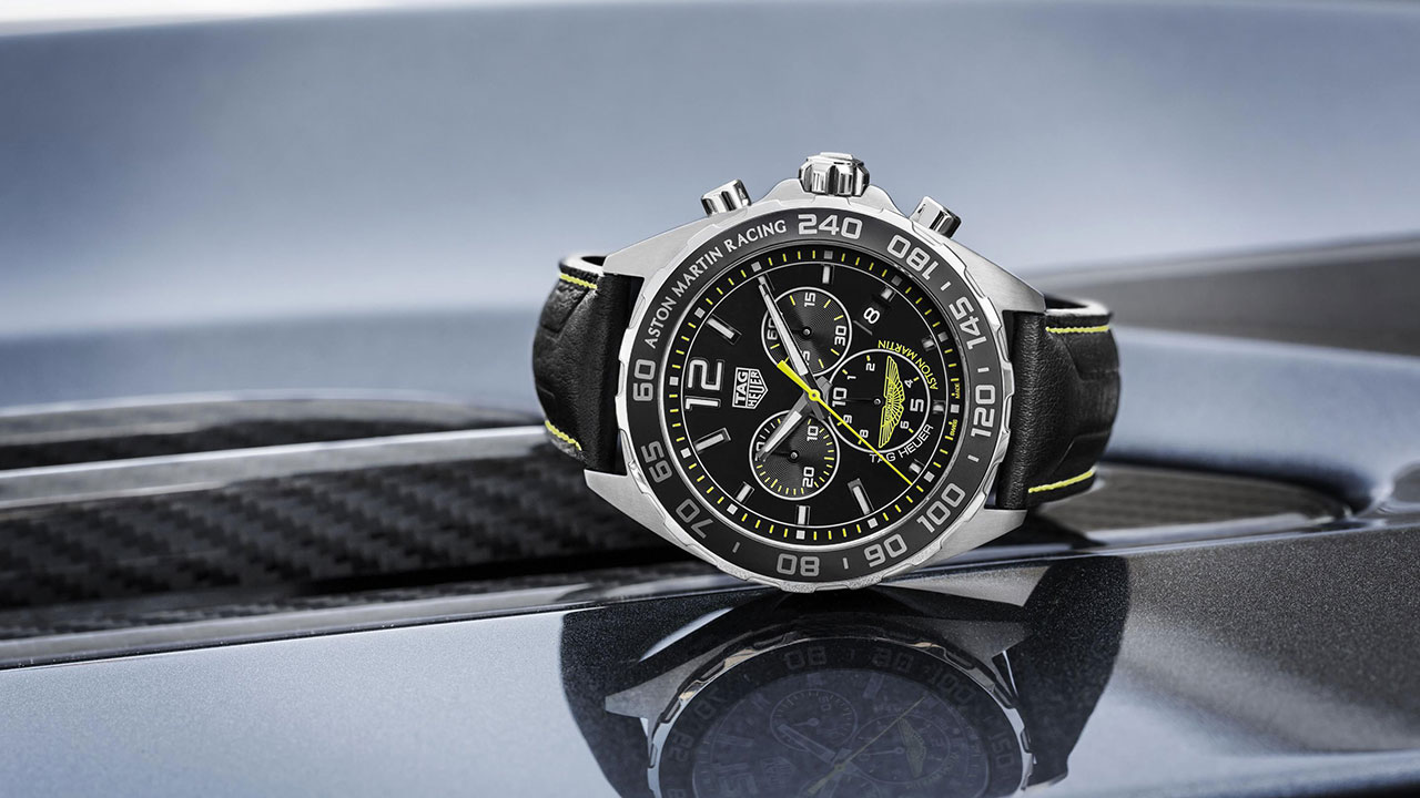 Technical Beauty At Boxfox1 Tag Heuer Carrera Calibre Heuer 01 Aston Martin Special Edition Watch