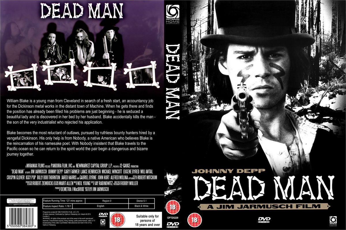 The Night Cruiser: Custom DVD Cover: Dead Man