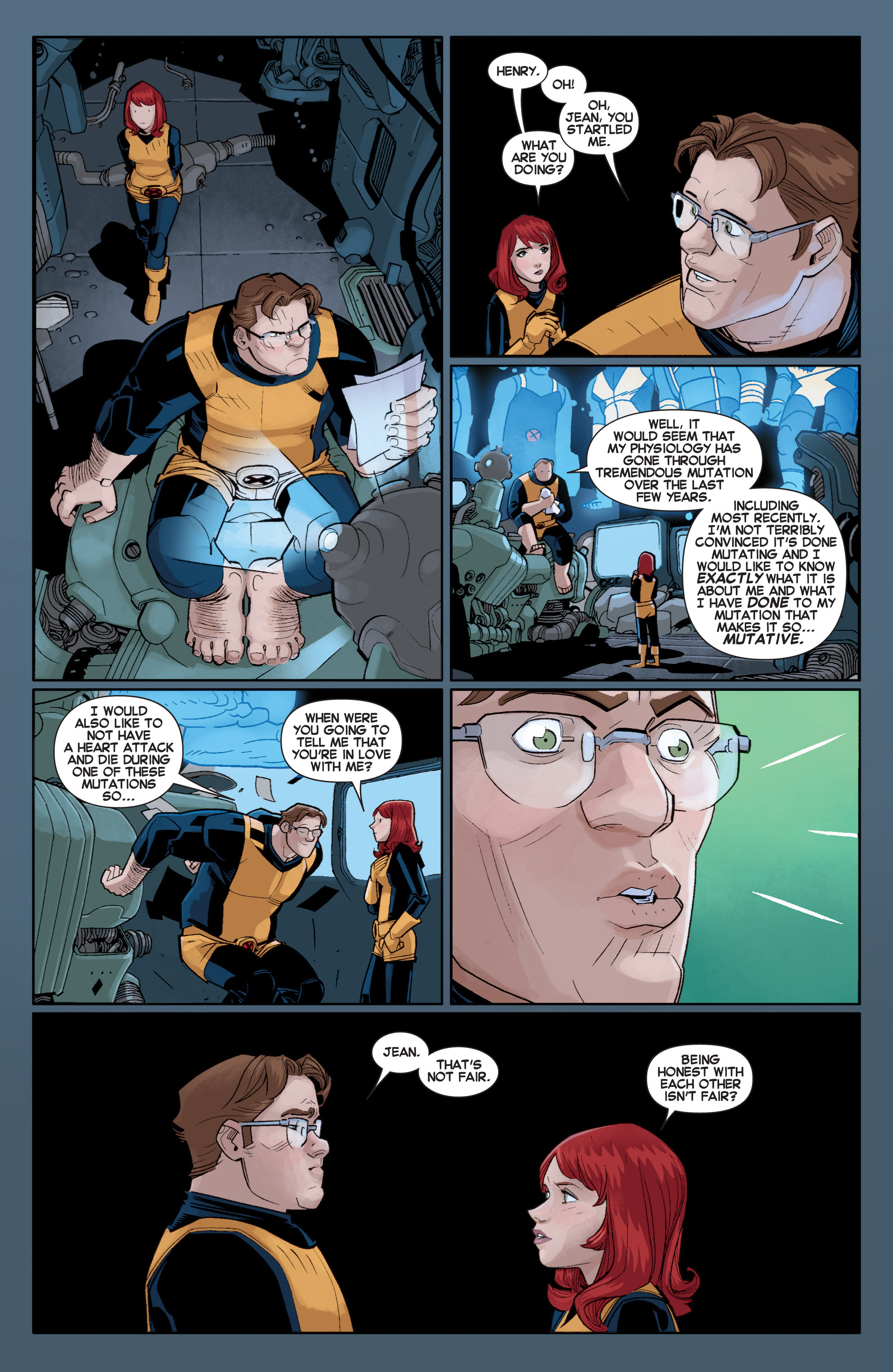 Read online All-New X-Men (2013) comic -  Issue # _Special - Out Of Their Depth - 102