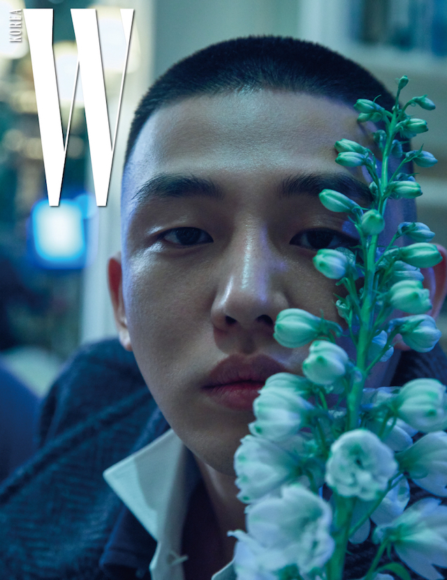 Yoo Ah In, Song Hye Kyo Yoo Ah In W March 2017, Yoo Ah In W, Yoo Ah In 2017, Song Hye Kyo and Yoo Ah In