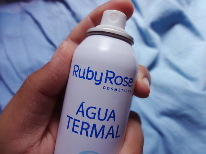 resenha agua termal ruby rose