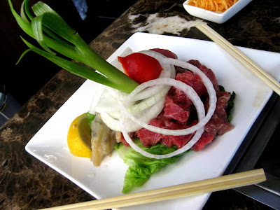 Small Korean Barbecue Platter at Bann Restaurant in New York, NY - Photo by Taste As You Go