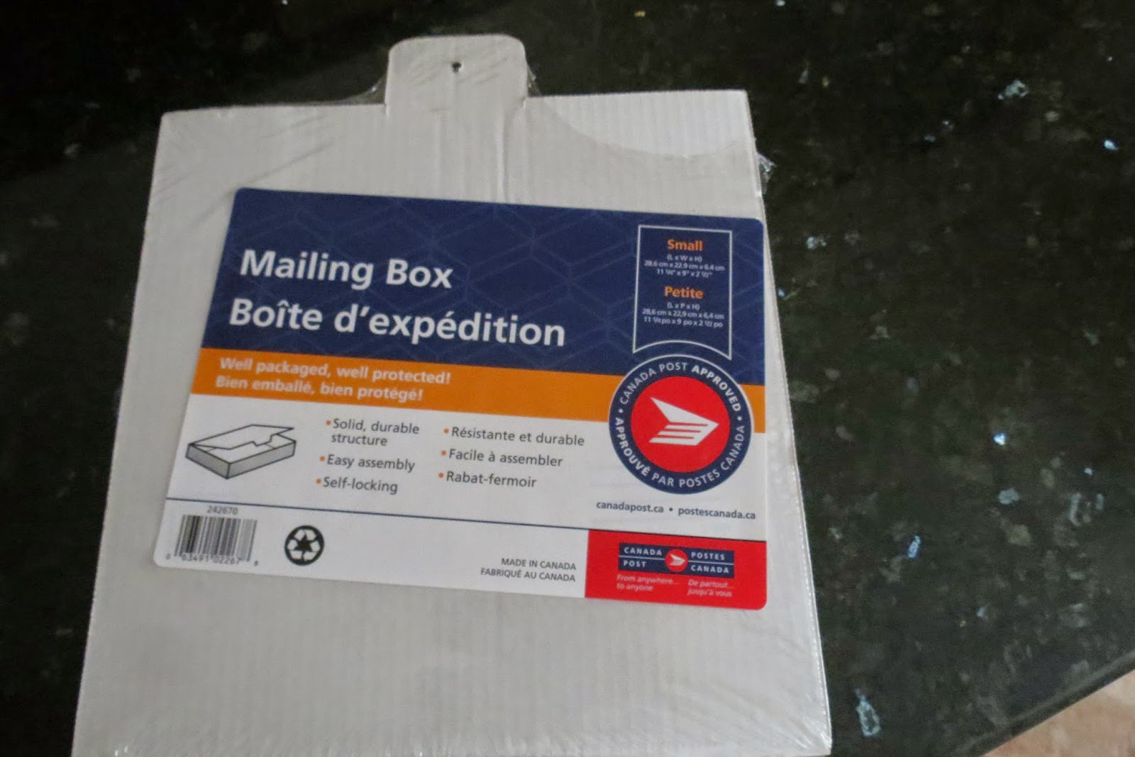 I Sent A Birthday Gift To Our Son Via Canada Post