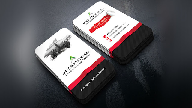 How to create 3d business card design photoshop tutorial desymbol creative business card design photoshop tutorial colourmoves