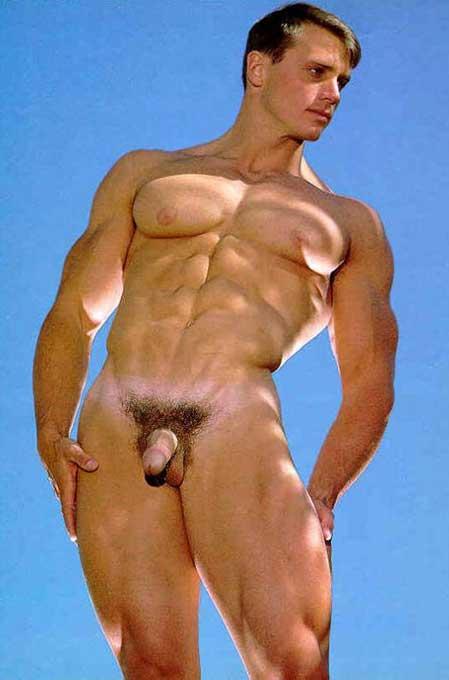 Photo Gay Int Vintage John Pruitt Nude Male Nackt Nu Mann Naked Akt Colt Foto