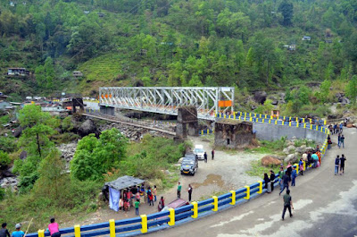 Jogighat steel bridge