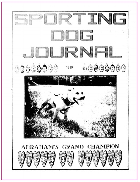 GR CH ABRAHAM'S QUEEN OF HEARTS (8XW) | SPORTING DOG NEWS
